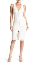 Trixxi Textured Knit Glitter Dress