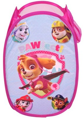 Nickelodeon Paw Patrol Girl Collapsible Storage Pop Up Hamper
