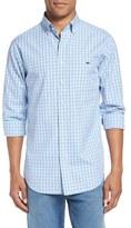 Vineyard Vines 'Phinneys' Slim Fit Plaid Sport Shirt