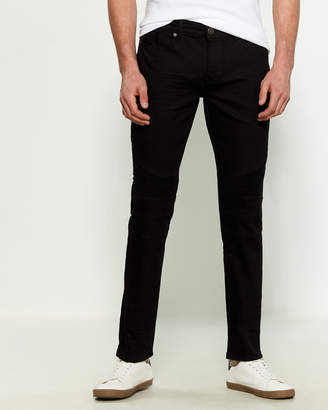 X-Ray X Ray Mid-Rise Moto Style Jeans