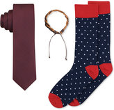 Bar III Men's Tie, Bracelet & Socks Set, Only at Macy's