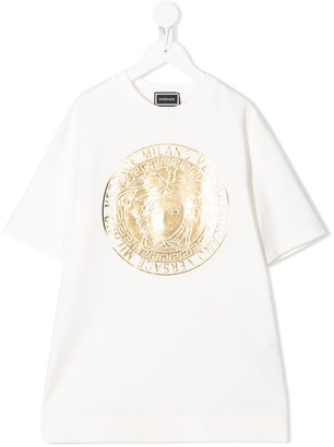 Versace oversized T-shirt dress