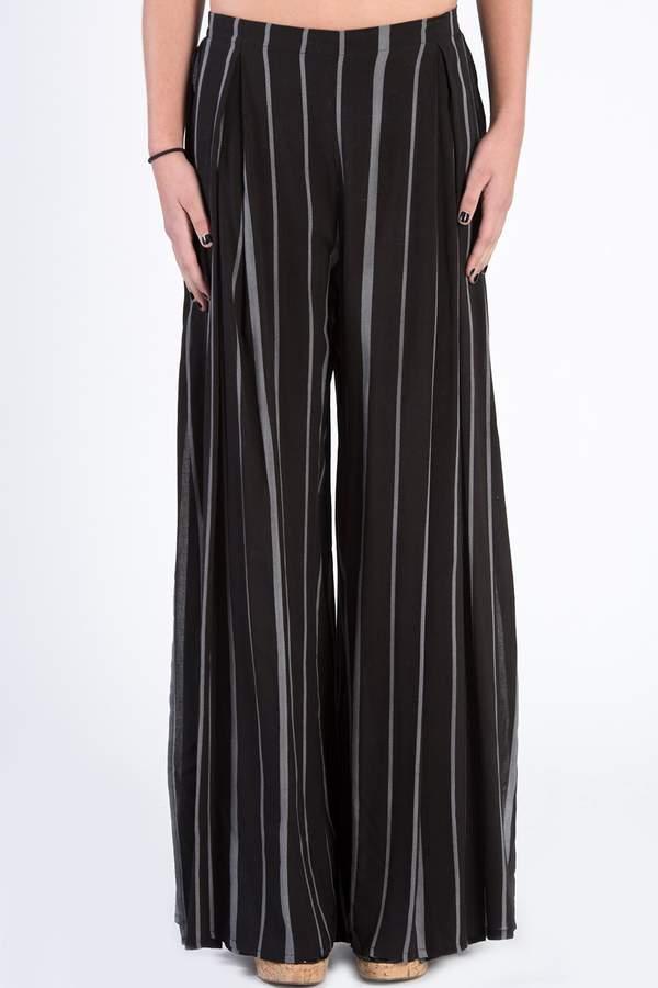 dress forum Striped Open Leg Pants