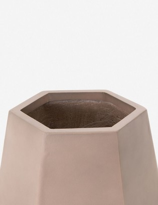 Lulu & Georgia Yuma Indoor/Outdoor Planter, Taupe