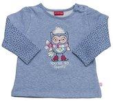 Salt&Pepper SALT AND PEPPER Baby Girls' B Sweat Smart Owl 2in1 Sweatshirt