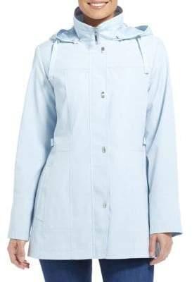 Gallery Petite Hooded Rain Jacket