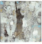iCanvas 'Statue Of Liberty' Giclee Print Canvas Art