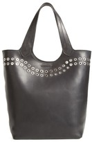 Frye Cassidy Studded Leather Tote - Black