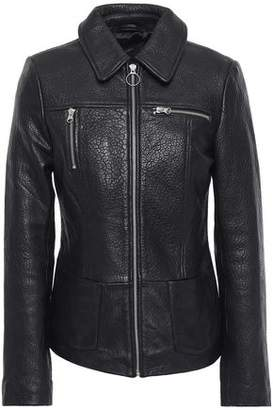 Muu Baa Muubaa Rhode Pebbled-leather Jacket