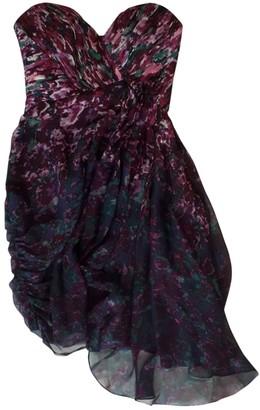 Jill Stuart Purple Silk Dress for Women