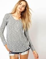 LnA Crepe Sweater