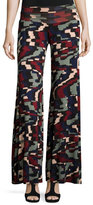 Rachel Pally Wide-Leg Printed Jersey Pants
