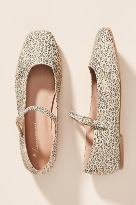 Anthropologie Sylvie Mary Jane Flats By in Assorted Size 7
