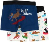 Hatley 2 Pack Boxers (Toddler/Kid) - Sledding Dogs-5