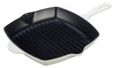 "Le Creuset 10.25"" Square Skillet Grill"