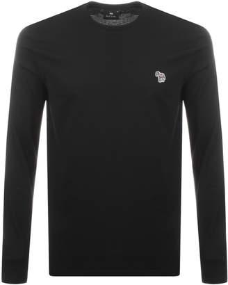 Paul Smith Long Sleeve T Shirt Black