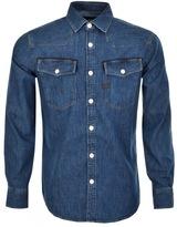 G Star Raw 3301 Denim Shirt Blue