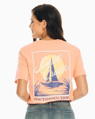 Southern Tide Sunset Cruise T-Shirt