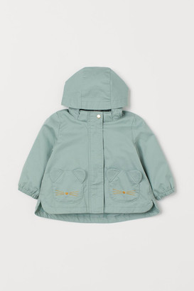 H&M Cotton Twill Jacket - Green
