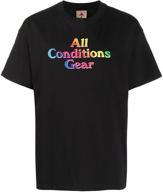Nike ACG Gradient cotton T-shirt