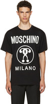 Moschino Black Glow-in-the-dark Logo T-shirt
