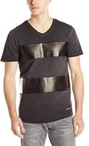 Buffalo David Bitton Men's Niquin Short Sleeve Knit V-Neck Shirt