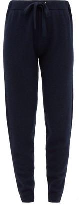 Derek Rose Daphne Cashmere Track Pants - Womens - Navy