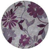Andover Mills Anthem Gray/Plum Elegance Area Rug Rug