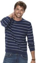 Men's SONOMA Goods for LifeTM Striped Crewneck Sweater