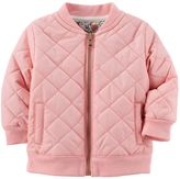 Carter's Baby Girl Quilted Jacket