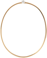 Delfina Delettrez Diamond, pearl & yellow-gold large earring