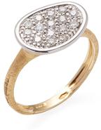 Marco Bicego Lunaria 18K Gold & 0.28 Total Ct. Diamond Ring