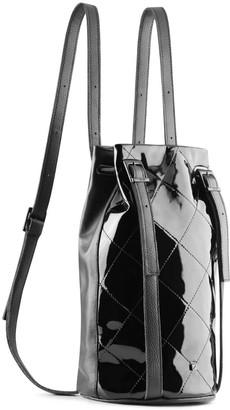 Maria Maleta Drawstring Backpack Black