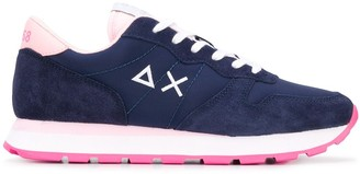 Sun 68 Low-Top Lace-Up Sneakers