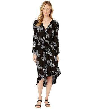 Rock and Roll Cowgirl Bell Sleeve Dress D4-2558