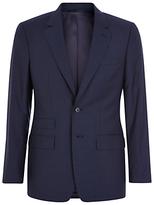 Aquascutum Swift Wool Silk Slim Fit Suit, Blue
