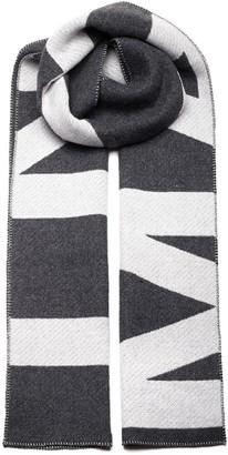 Isabel Marant Logo Knit Scarf