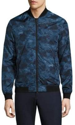J. Lindeberg Thom 72 Printed Bomber Jacket