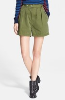 Marc by Marc Jacobs Classic Cotton Pleated Shorts