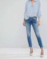 7 For All Mankind Skinny Crop Jean