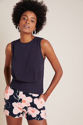 Maeve Hope Sleeveless Blouse By in Blue Size L