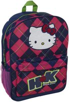 Hello Kitty FAB Starpoint Backpack Argyle