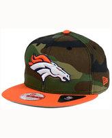 New Era Denver Broncos Camo Two Tone 9FIFTY Snapback Cap