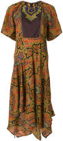 Etro embroidered shift dress