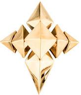 Givenchy Geometric Cross Brooch Pendant