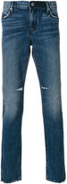 RtA distressed slim fit jeans