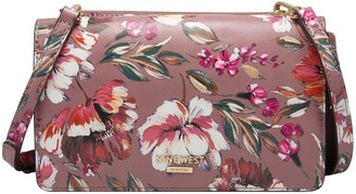 Nine West Floral Convertible Crossbody -Knotted Up