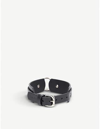 Fleet Ilya Chunky O-ring leather choker