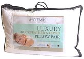 Luxury Duck Feather Pillow Pair by Textiles Direct