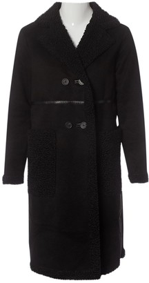 Apparis \N Black Faux fur Coats